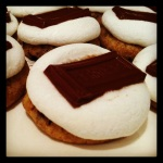 Smore cookies, super easy and yummy.